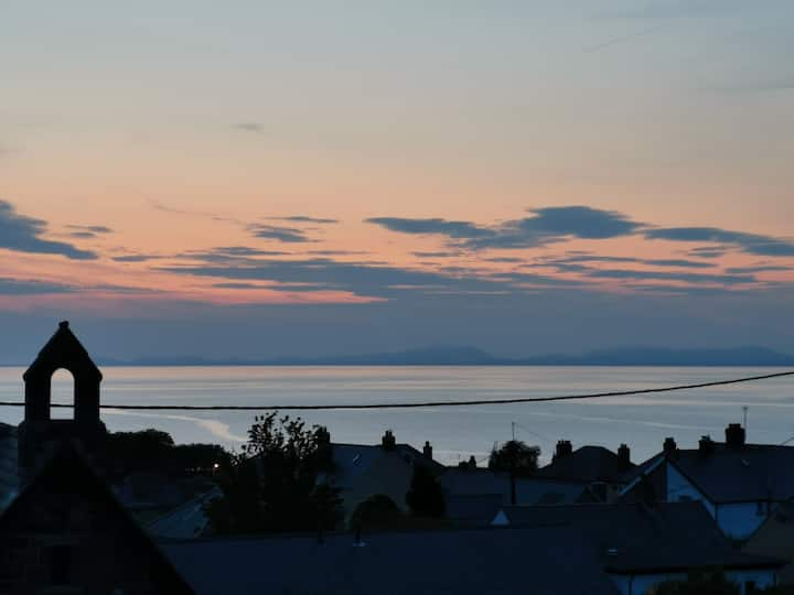 Quirky Welsh Chapel Coast Sea Views Sleeps 8
