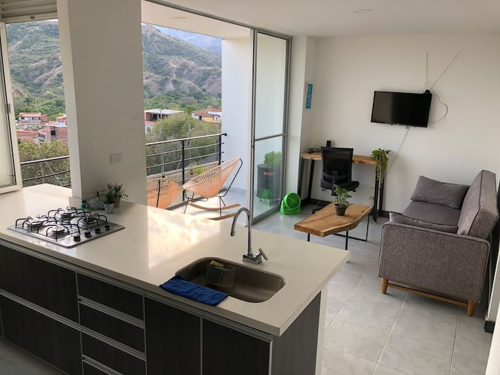 Hermoso apartasol en Santa Fe de Antioquia