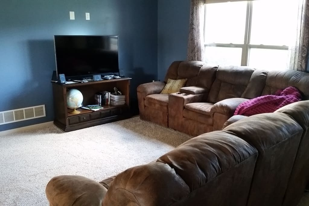 Shared Living Room Space.