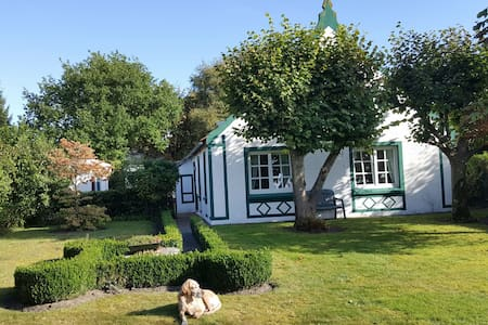 Saniertes Müllerhaus: eine Oase der Ruhe
