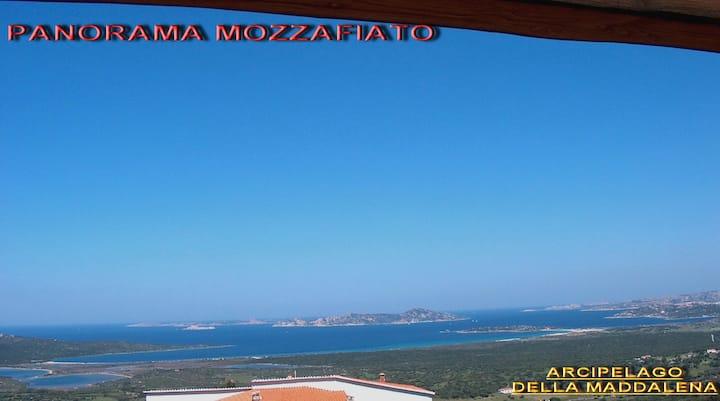 PANORAMA MOZZAFIATO S.PASQUALE (S. TERESA GALLURA)