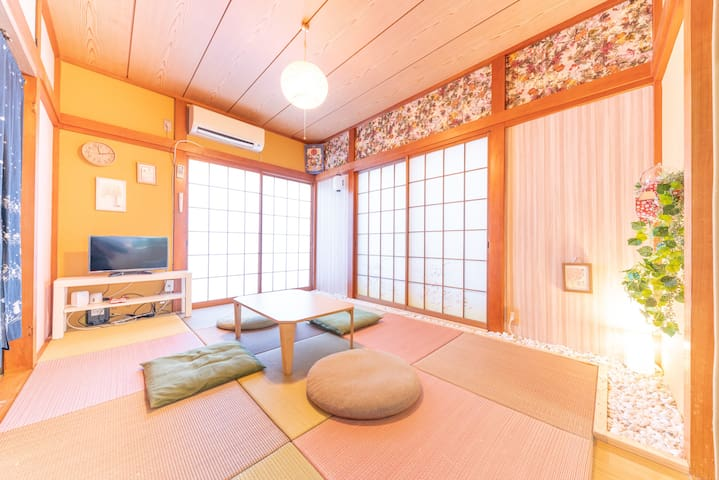 20-min to Hakone area/5 min-walk to train station!