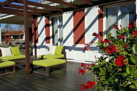 Chambre au calme à 5min de l'océan - Le Porge - House