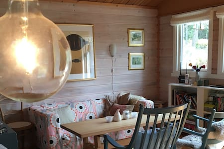 Charming 70s forest cabin 45 minutes from Oslo