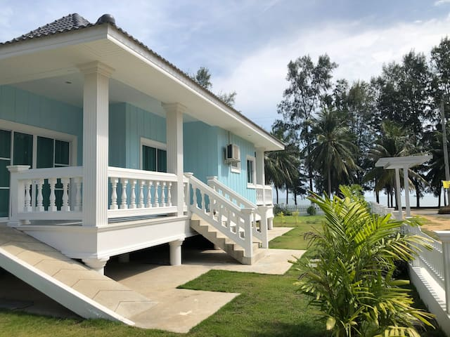 Beach Front New House 3 Bedrooms..Near Hua Hin
