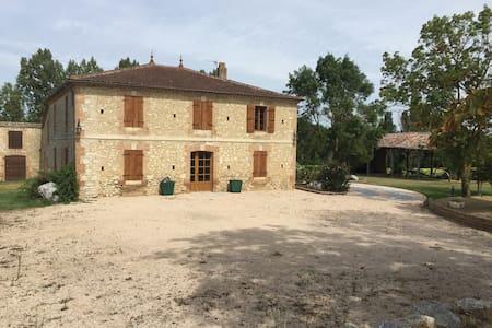 Belle maison Gasconne de 110 m2 - Aubiet - Dům