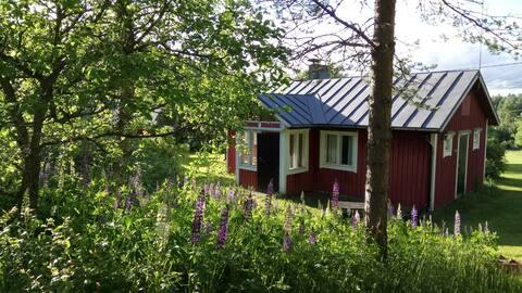 Idyllic cottage with sauna