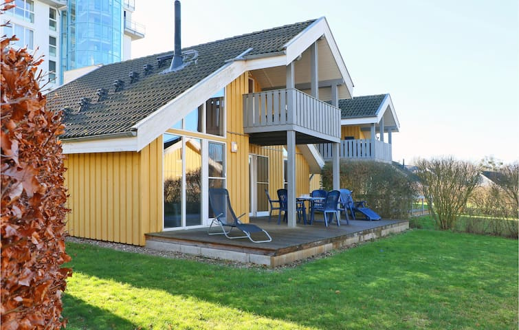 Beautiful home in Rechlin with Sauna, WiFi and 3 Bedrooms