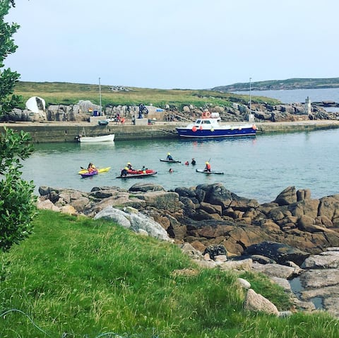 Gola Island home with spectacular views