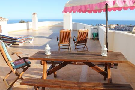 Maravilloso ático con vistas al mar - Roquetas de Mar - Other