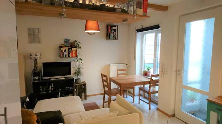 Gemütliche Maisonette Wohnung im Zentrum Erlangens