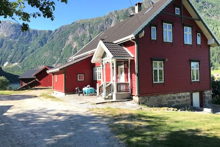 A beautiful  place  in the amazing Esefjord