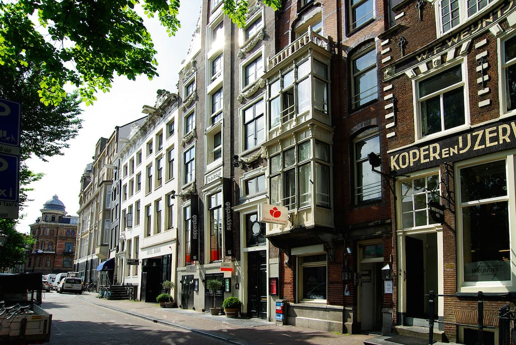 Beautiful apartment in the city centre appartements for Appart hotel amsterdam centre ville