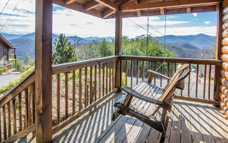 Enjoy your front porch swing with amazing long range views!