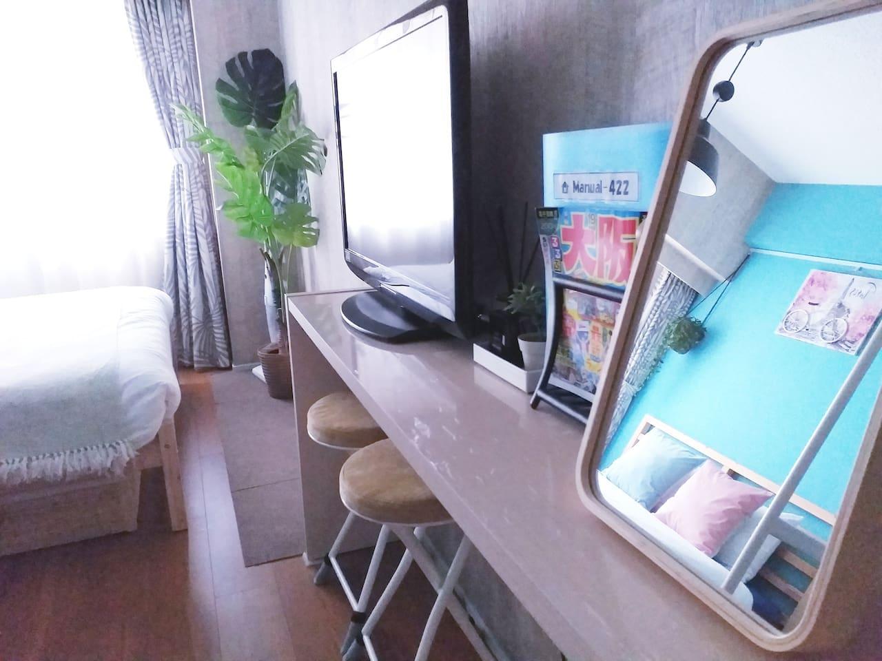 ★1-min walk from Shin-Osaka Station/Free Wi-Fi★