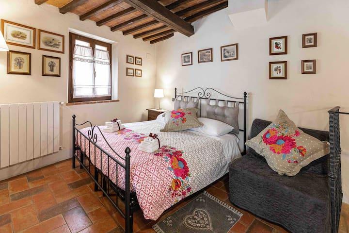 Rosa's cozy little house