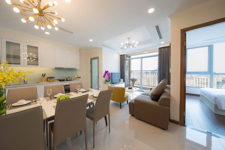 2 bedrooms in Landmark Plus Vinhomes Central Park