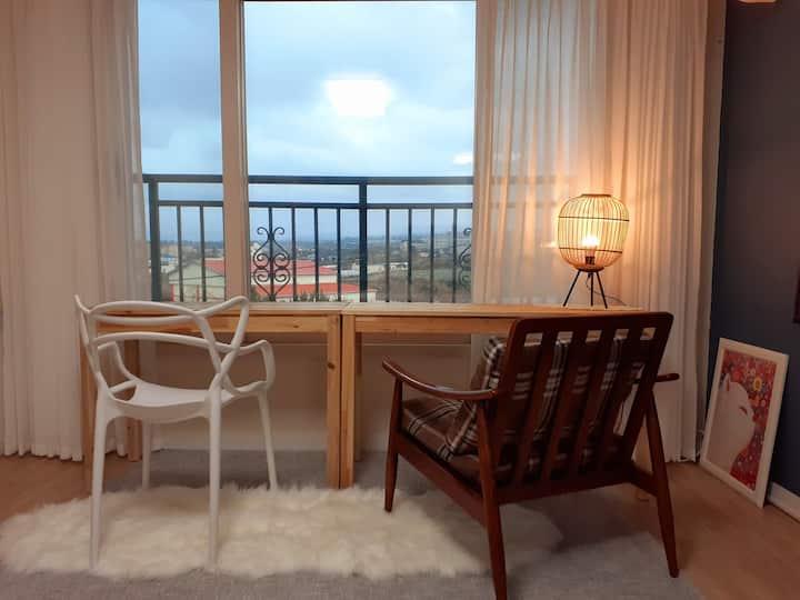 홈카페 하우스♡ (공항15분, 애월해안도로 시작점, 버스정류장, 뚜벅이여행 최고 위치)