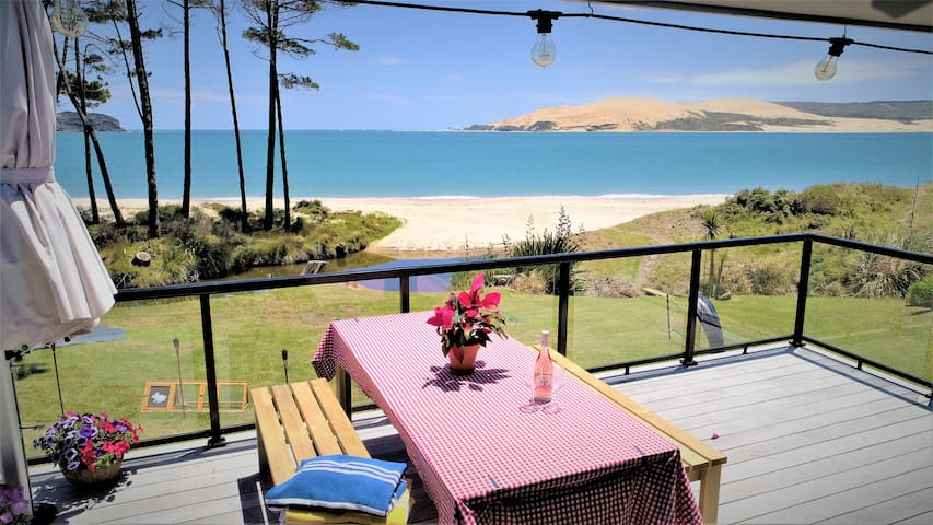 Absolute Waterfront Beachfront Hokianga Omapere