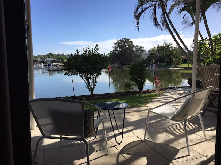 KeyPoint canal front apartment Mooloolaba