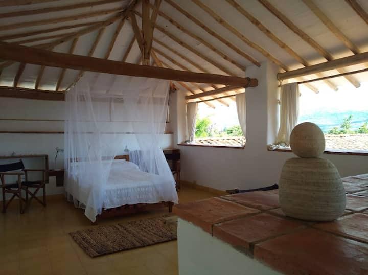 Loft en casa Amancay