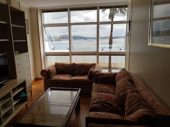 Apartamento en primera línea de playa, 6 personas
