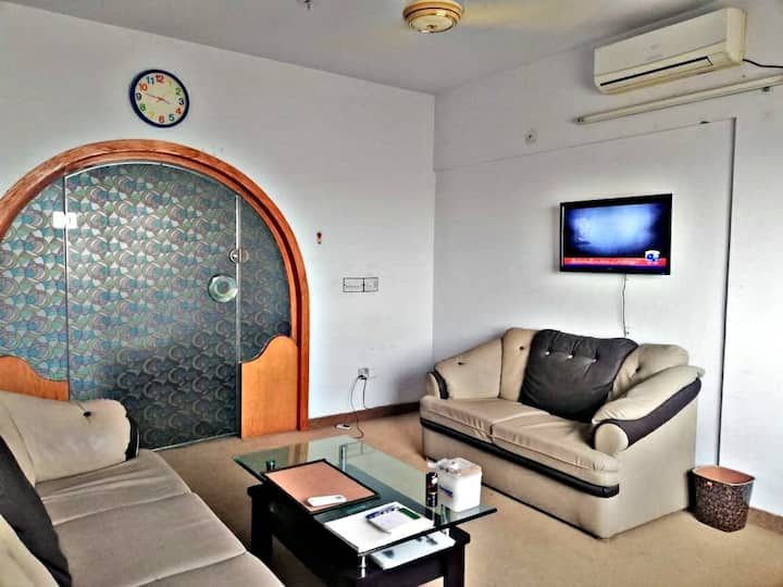 Sanitized Karachi Apartment