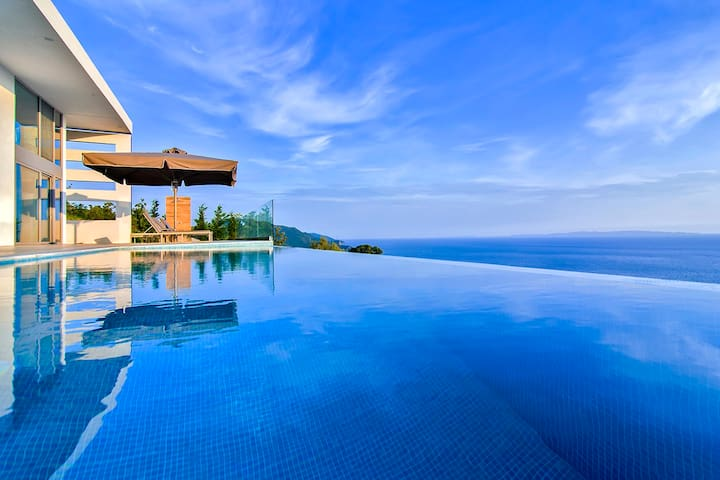 JuneOffers: Villa Blue Infinity With Pool&SeaViews