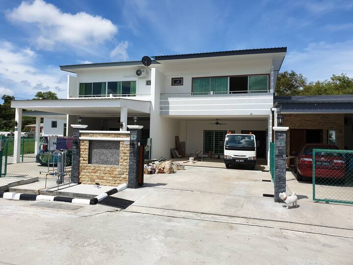 new terrace double story house
