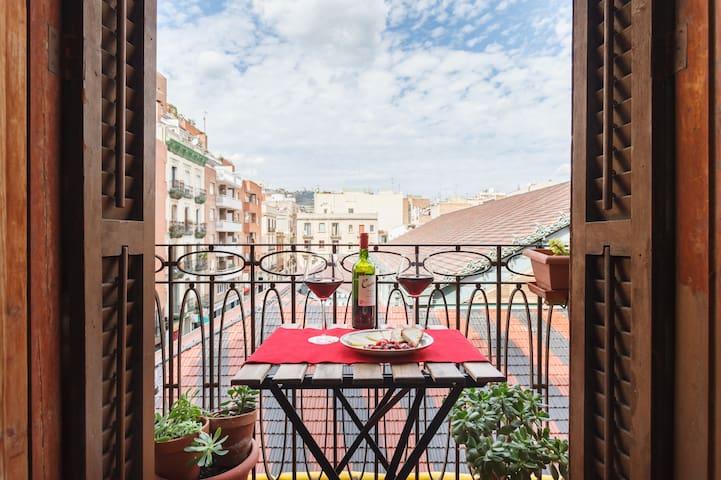 Apartamento de diseño para 2 personas en Barcelona - Barcelona - Apartament