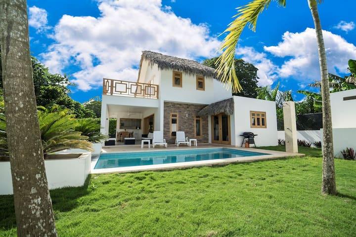 Villa Caraibes Lyvia-Marine playa Bonita