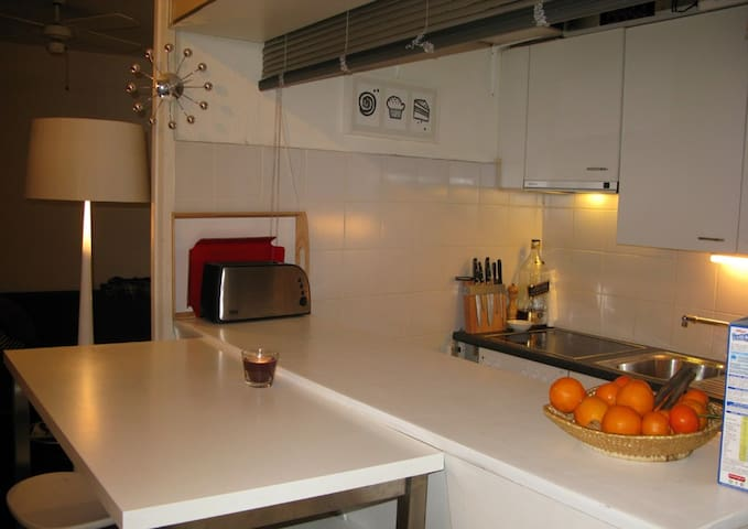 City center, 2 rooms, close to everything - Genève - Apartmen