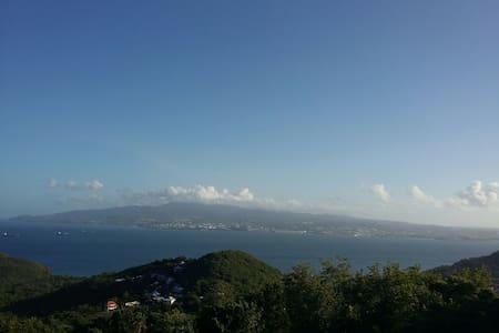 Superbe vue mer et FDF, au calme. - Les Trois-Îlets