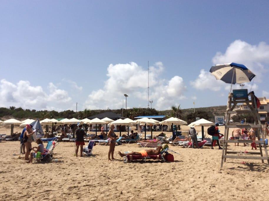 Strand in Guardemar