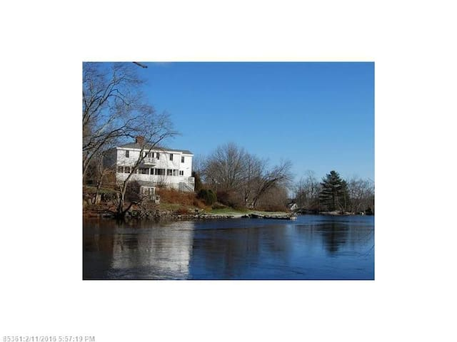 Waterfront Home - The 1822 Cushing Bryant House - Nobleboro - House