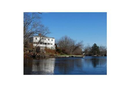 Waterfront Home - The 1822 Cushing Bryant House - Nobleboro - Ev