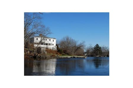 Waterfront Home - The 1822 Cushing Bryant House - Nobleboro - Hus