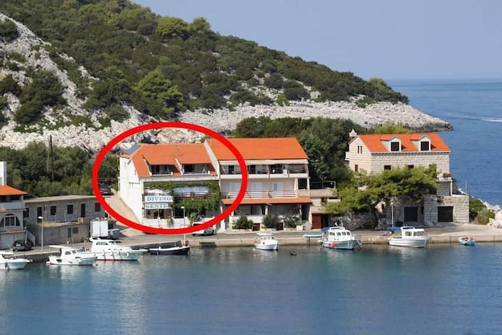 Studio flat near beach Zaklopatica, Lastovo (AS-993-a) - Zaklopatica - Overig