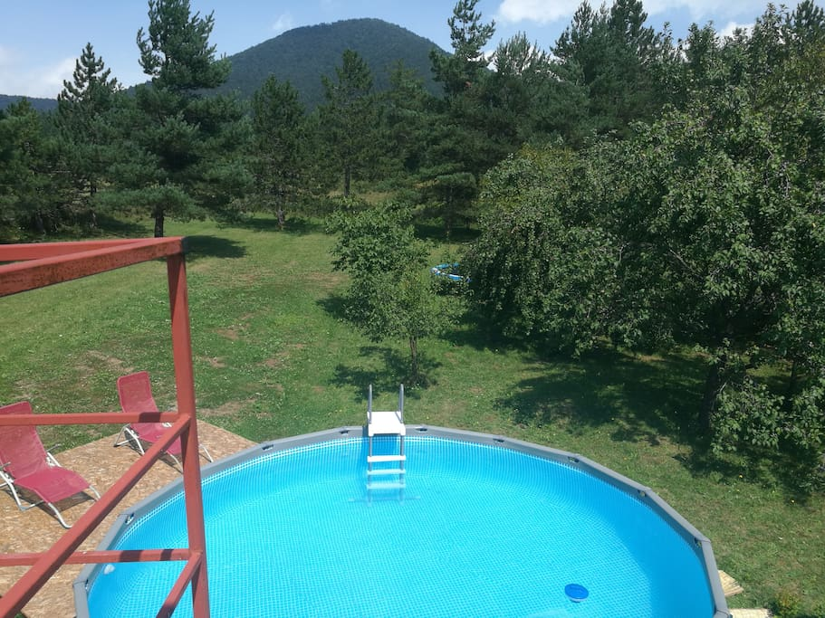 Above the Ground Pool ( from June till September )