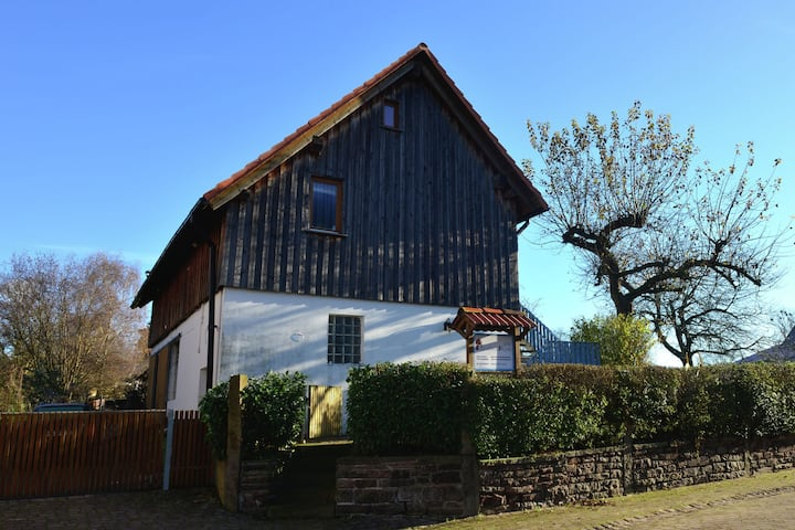 Exceptionally bright holiday home surrounded by the beautiful nature of the Weserbergland