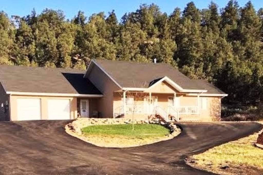 Beautiful home located on quiet hill top location.