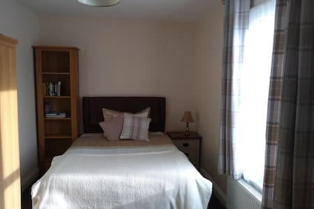 Large room with parking in city centre