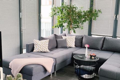 Welcome to the jungle - schöne grüne Wohnung