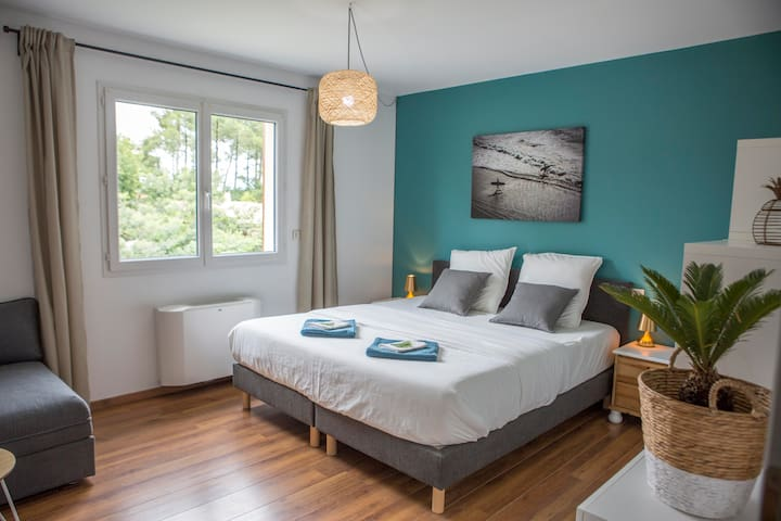 Friends & Family Room in Ocean Garden Surf Lodge