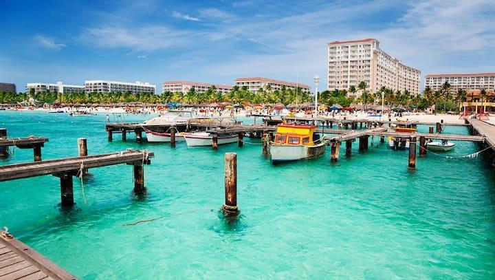 Marriott Aruba Surf Club - 2 Bedroom/2 bath Villa.