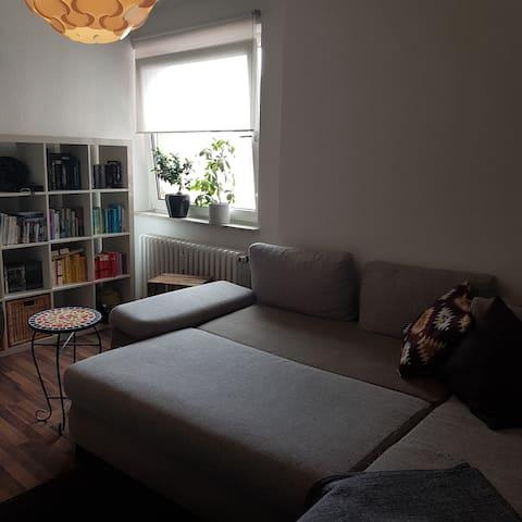 Großes, helles Zimmer im Zentrum Mannheims