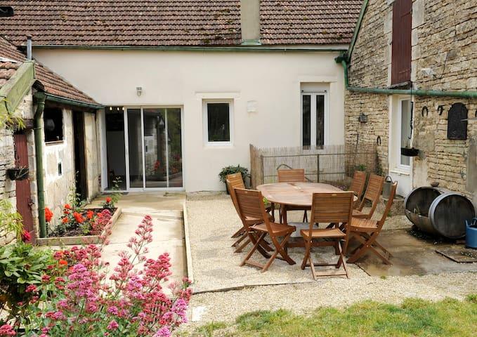 Charmante maison au coeur d'un village viticole - Les Riceys - House