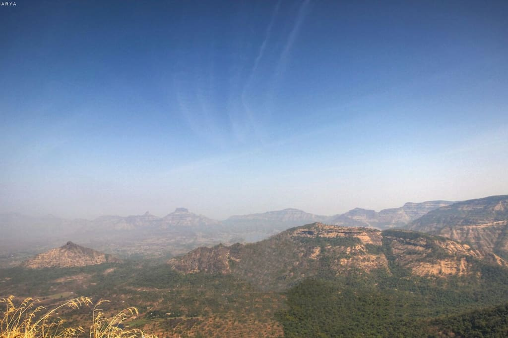 View from the Kalavantin Pinnacle