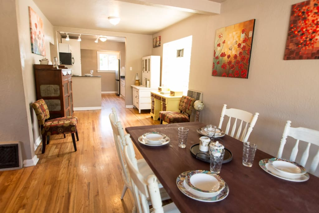 Recently remodeled beautiful Dining and Entertainment Space