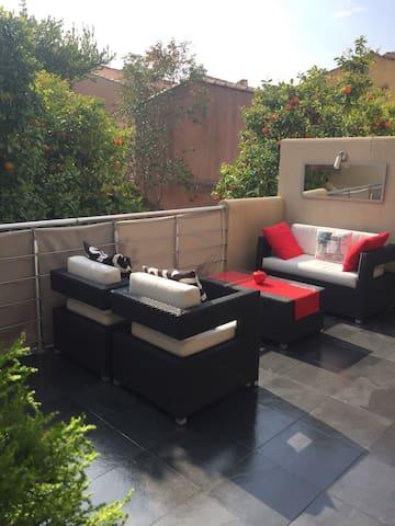 Luxueux appartement 2 terrasses